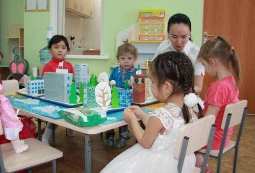 Начисления и удержание за детский сад
